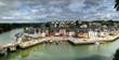 Leinwandbild Motiv Aurey Panorama