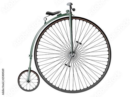 Retro bicycle © nstnad