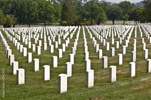 Keuken foto achterwand Begraafplaats Headstones at the Arlington national Cemetery