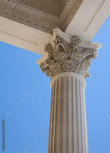 Fototapeta Korinthische Säule