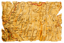 Nevada Old Map