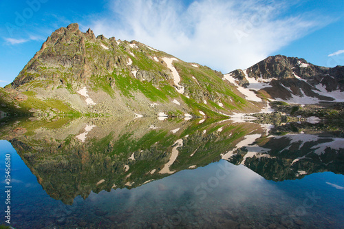 Wall Murals Northern Europe Lake in mountain