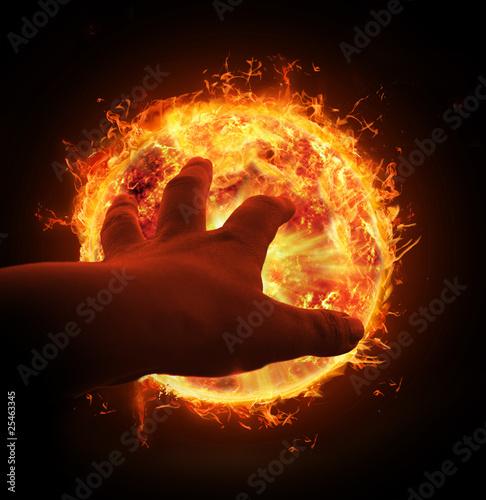 In de dag Vuur / Vlam Energie