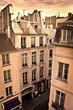 La rue Saint-Jacques à Paris - France