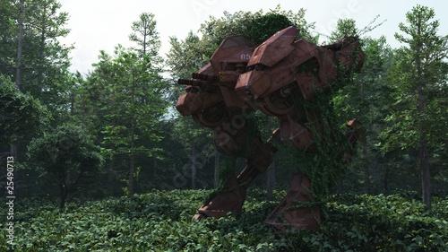 Fotografia, Obraz  Rusting War Machine