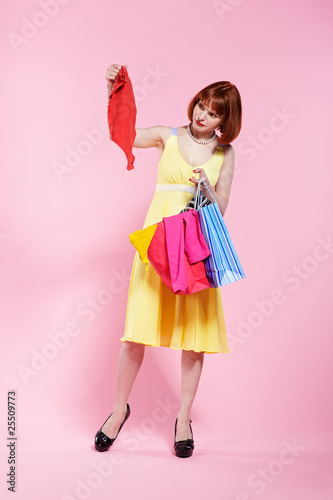 Fototapeta redhead woman obraz na płótnie