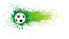 Vector Football Banner.