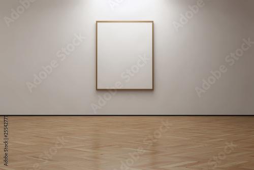 Fotografie, Obraz  Verical canvas in the gallery
