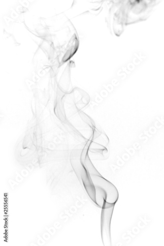 Smoke Black And White Color Abstract Photo