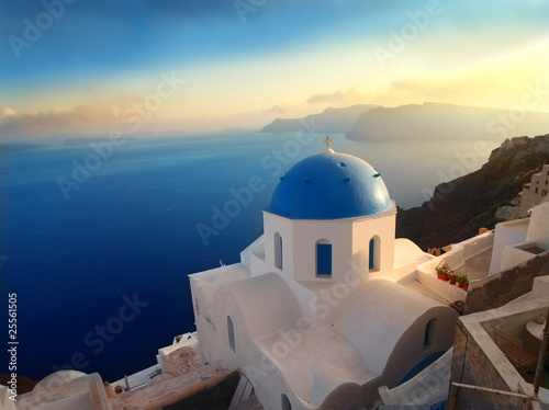 Papiers peints Santorini Beautiful view