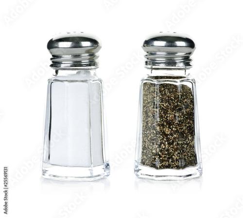 Salt and pepper shakers Fototapeta
