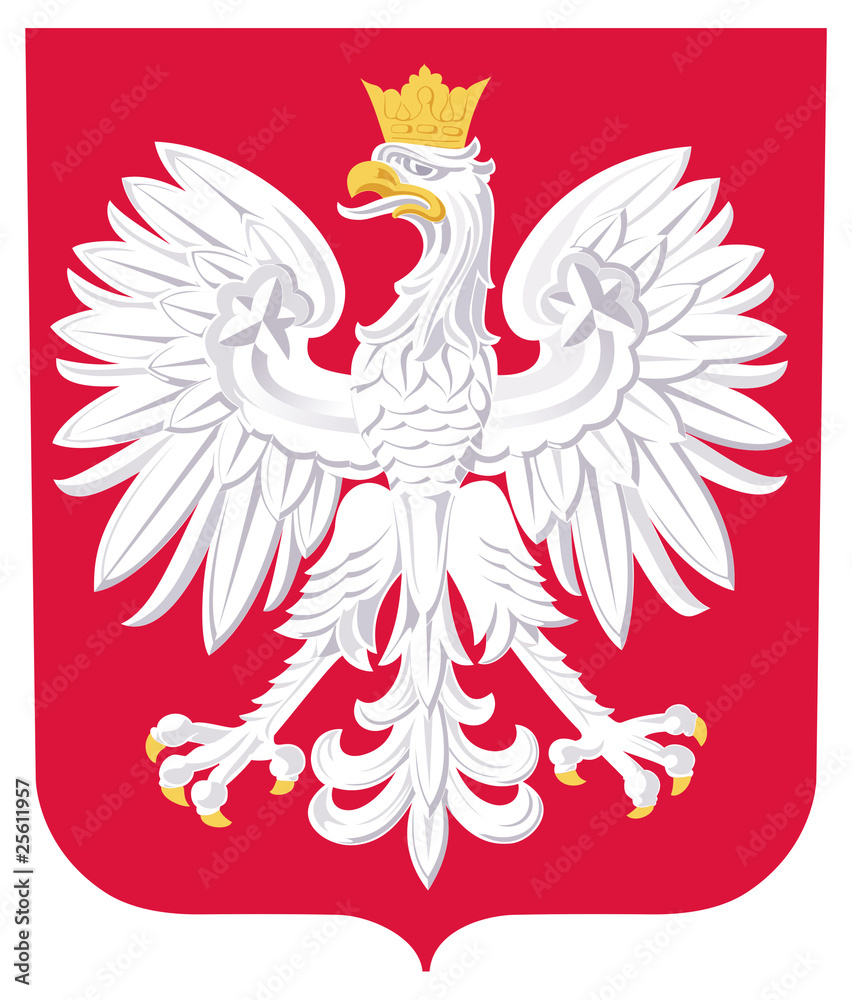 Fototapeta Poland Coat of Arms