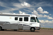 Recreational Vehicle On The Road
