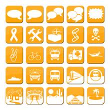 Iconos Naranja Serie 2