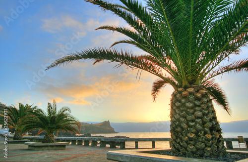 Fotografie, Obraz  Sonnenaufgang auf Madeira