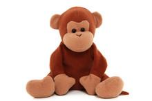 Children's Stuffed Monkey