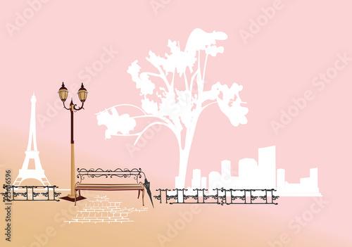 Park in the Paris