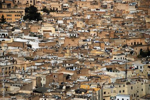 Recess Fitting Morocco Rooftops of Fes
