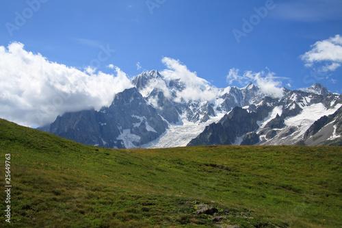 Recess Fitting Panorama Photos Monte Bianco