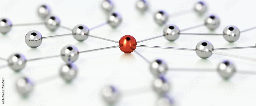 Fototapeta Connections 4 - Die Verbindung