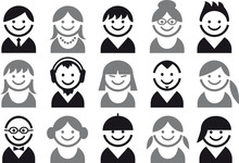 People Vector Icon Set