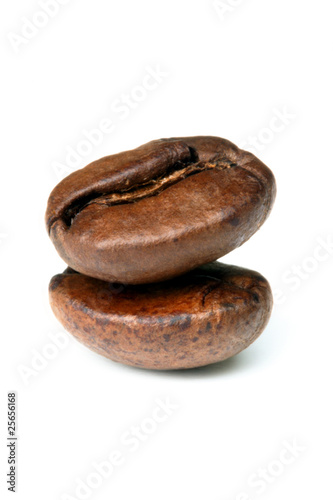 Deurstickers koffiebar 2 chicchi di caffè