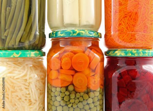 Fotografía  Conserves de légumes en bocal #1