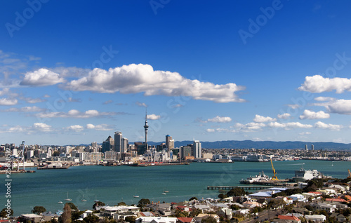 The City of Auckland in New Zealand.