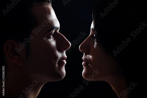 Fotografia  young couple portrait