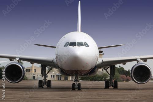 avion vue de face Wallpaper Mural