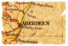 Aberdeen Old Map