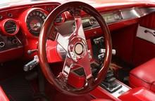 Volant Et Intérieur Rouge De ...
