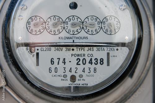 Fotografie, Obraz  Power Meter