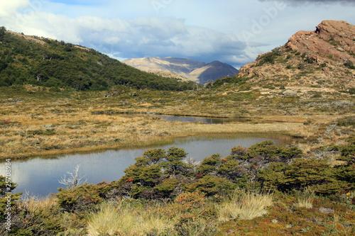 Lake and mountain #25708984