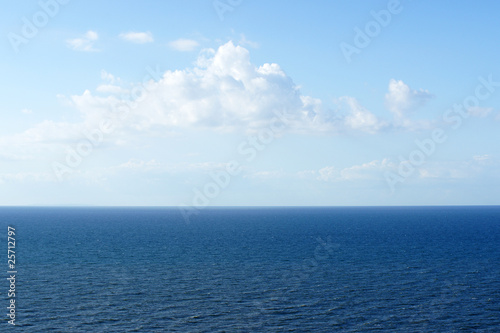 Foto-Rollo - Meer und Himmel - Ocean and blue Sky