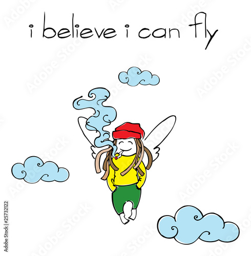 Photo  I believe I can fly
