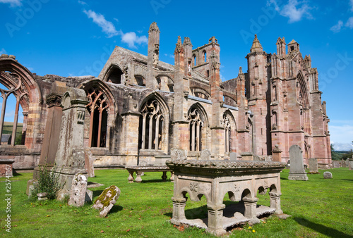 Melrose Abbey Canvas Print
