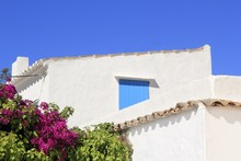 White Mediterranean House Deta...