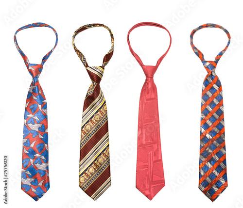 Fotografía Set of man's ties isolated
