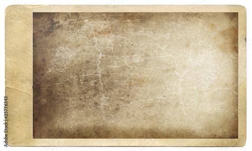 Obraz Old grungy photo against a white - fototapety do salonu