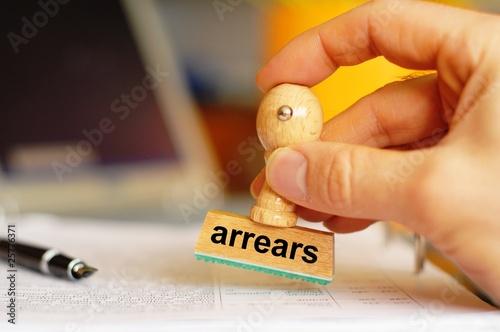 Photo arrears