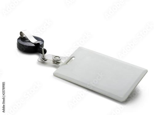 Badge de sécurité Billede på lærred