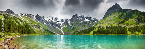 Photo sur Aluminium Lac / Etang Mountain lake