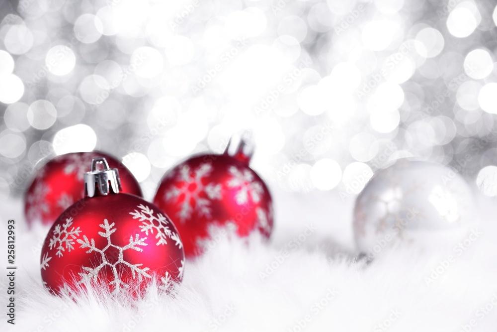 Foto-Doppelrollo - Christmas Decoration