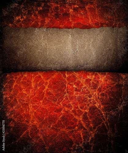 Photo sur Toile Les Textures grunge leather background