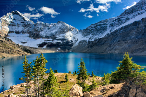 Foto op Canvas Canada Lake McArthur, Yoho National Park