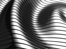 Aluminum Abstract Wave Stripe ...
