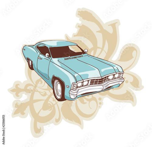 Fotografia  Chevrolet Impala Lowrider