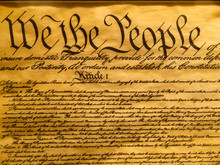 USA Constitution Parchment