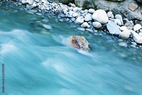 Foto auf Gartenposter Fluss river in motion